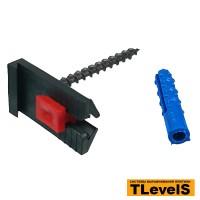 Крепление для штукатурных маяков TLevelS (комплект) 20 шт