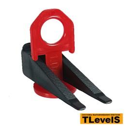 Комплект системы выравнивания плитки TLevelS 1 мм