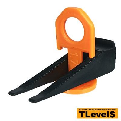 Комплект системы выравнивания плитки TLevelS 1,7 мм