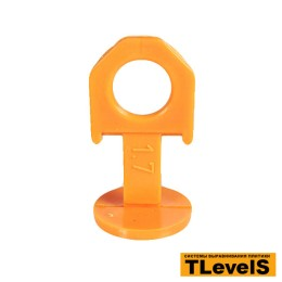 Зажим СВП 1,7 мм TLevelS с кольцом 100 шт.